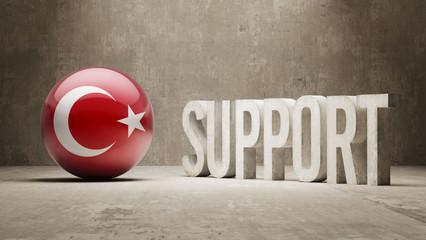 Turkey. Support Concept.