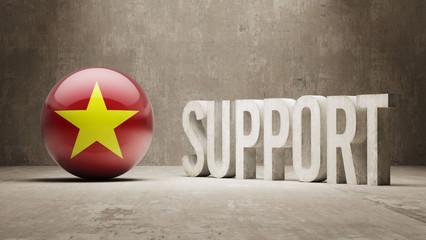 Vietnam. Support Concept.
