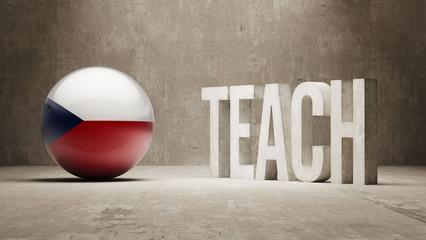 Czech Republic. Teach Concept.