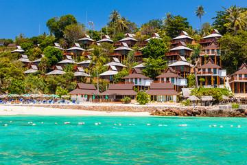 Thai island resort