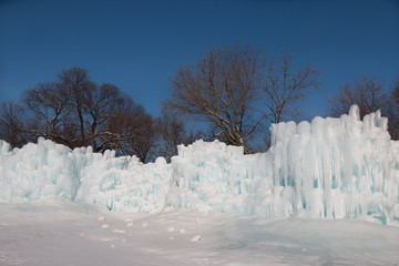 Wall of Ice Castle