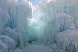 Path between ice walls