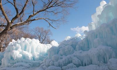 Ice barricade