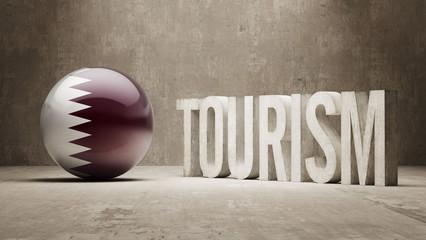 Qatar. Tourism Concept.