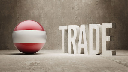 Austria. Trade Concept.