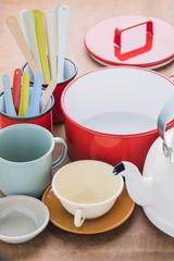 Kitchen utensils vintage