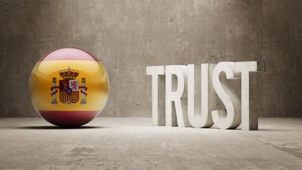 Spain. Trust Concept