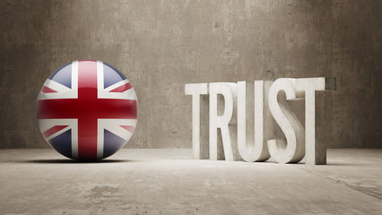 United Kingdom. Trust Concept