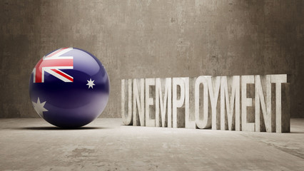Australia. Unemployment Concept.
