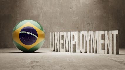 Brazil. Unemployment Concept.