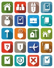 Icons legal services