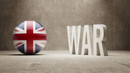 United Kingdom. War Concept.