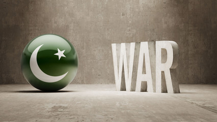 Pakistan. War Concept.