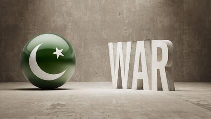Pakistan. War Concept.