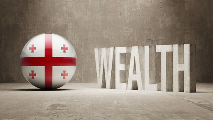 Georgia Wealth Concept.