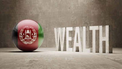 Afghanistan. Wealth Concept.