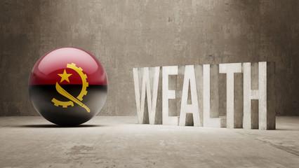 Angola. Wealth Concept.