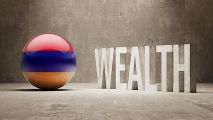 Armenia. Wealth Concept.