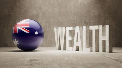 Australia. Wealth Concept.