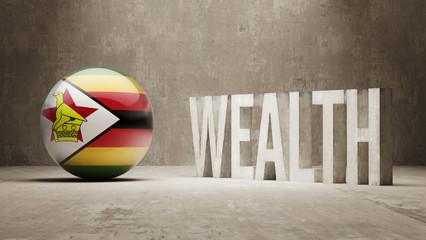 Zimbabwe. Wealth Concept.