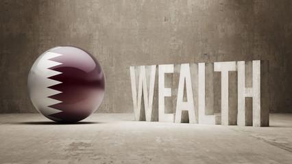 Qatar. Wealth Concept.
