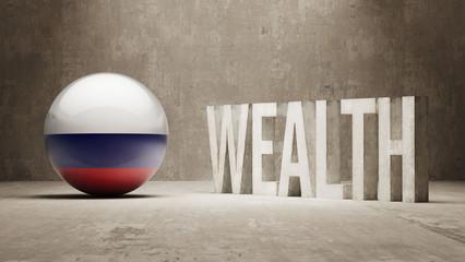 Russia. Wealth Concept.