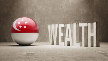 Singapore Wealth Concept.