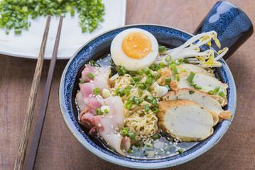 Asian food japanese ramen noodle