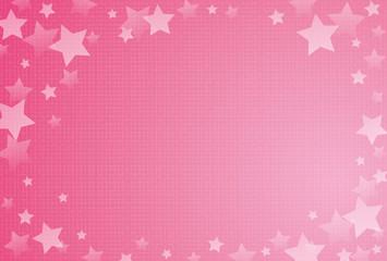 背景テンプレート 星 ポストカード