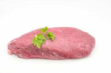 Piece of fresh raw beef