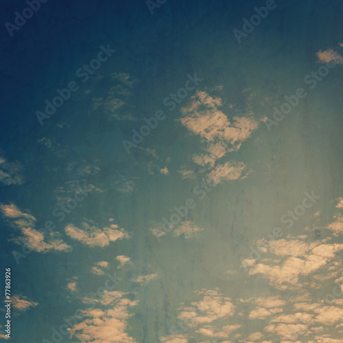 Foto op Plexiglas Retro grunge clouds vintage background and texture.