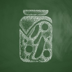 pickled vegetables icon