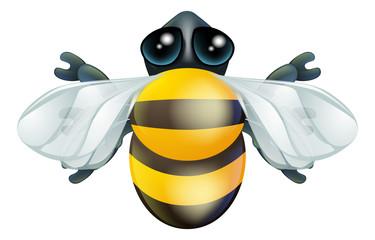 Cartoon bee bug character