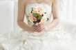 The bride who has a bouquet - 77865546