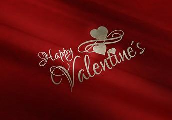 Happy Valentines - Leder - R