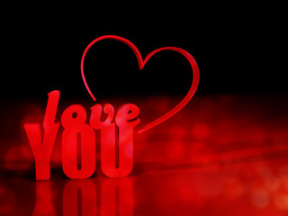 LOVE YOU HEART 3