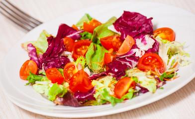 fresh vegetables salad
