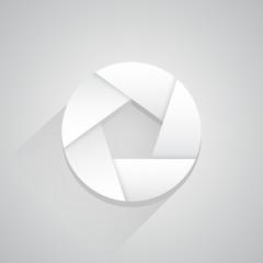 Photo blind icon button