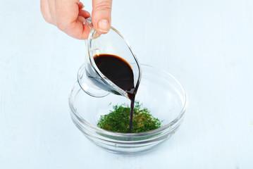 preparation a soy sauce