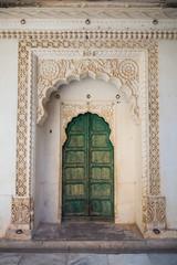 Ornate Indian Doorway