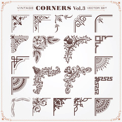 Vintage Design Elements Corners And Borders 3