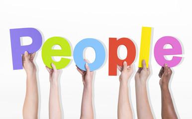 People Diverse Diversity Ethnic Ethnicity Unity Concept