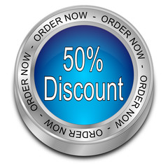 50% Discount Button