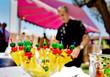 Catering al aire libre. Eventos comida y celebraciones.Fruta - 77875329