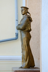Statue of the sailor in Kerch