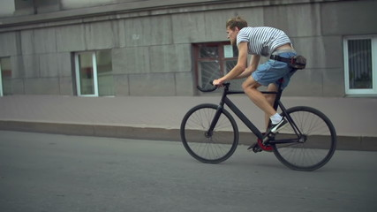 Fixed Gear and the City