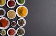 canvas print picture - Various spices