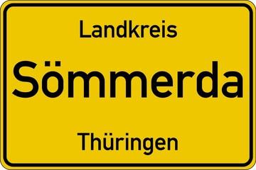 Sömmerda in Thüringen