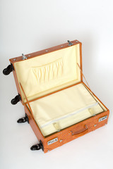 キャスター付きのスーツケース