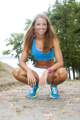 fit woman outdoor